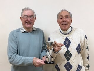 Winner michael clydesdale and runner up david man